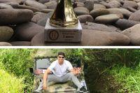 Владимир Кличко выиграл свой первый трофей в автогонках