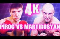 Яркие моменты боя Дмитрий Пирог - Геннадий Мартиросян в 4K