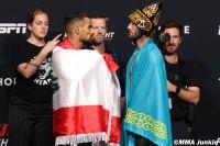 Видео боя Сергей Морозов - Халид Таха UFC on ESPN 26