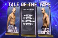 Видео боя Чак Лидделл - Тито Ортис 3 Golden Boy MMA