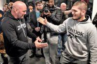 """Президент UFC: """"Хабиб Нурмагомедов не может сидеть со своим титулом до октября"""""""