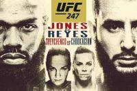 Ставки на UFC 247: Коэффициенты букмекеров на турнир Джон Джонс - Доминик Рейес, Валентина Шевченко - Кэтлин Чукагян