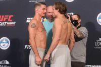 Видео боя Даррен Элкинс - Нейт Ландвер UFC on ESPN 8