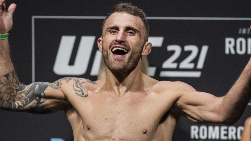 Алекс Волкановски надеется, что Макс Холлоуэй согласится подраться на UFC 243 в Австралии