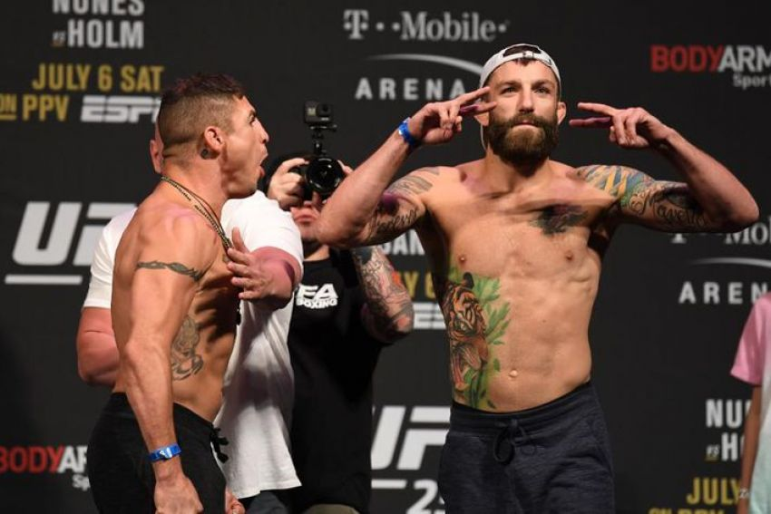 Видео боя Диего Санчес - Майкл Кьеза UFC 239