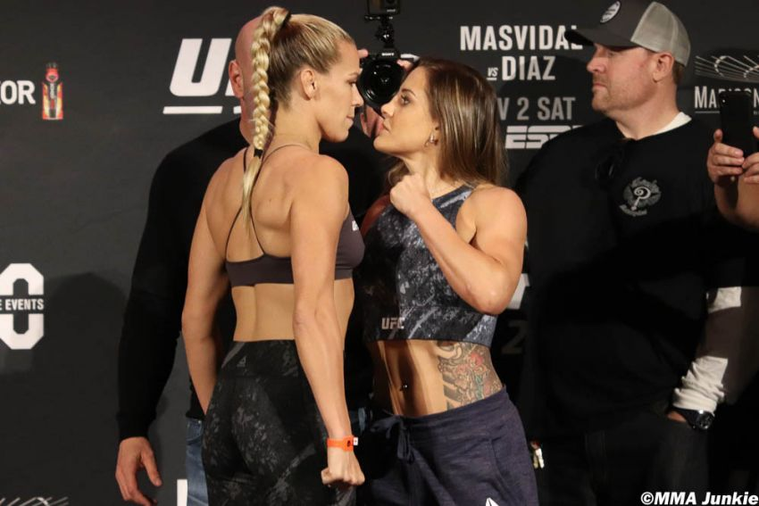 Видео боя Кэтлин Чукагян - Дженнифер Майа UFC 244