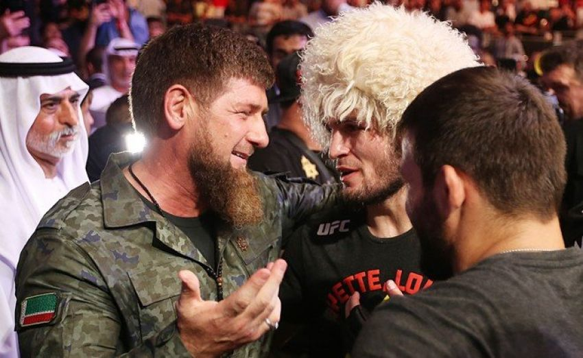 """Ramzan Kadyrov promised Nurmagomedov any money for a duel with a fighter from """"Akhmat"""". In the comments, Chimaev said that he is ready to tear up Khabib"""