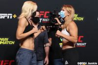 Видео боя Яна Куницкая - Юлия Столяренко UFC on ESPN+ 32