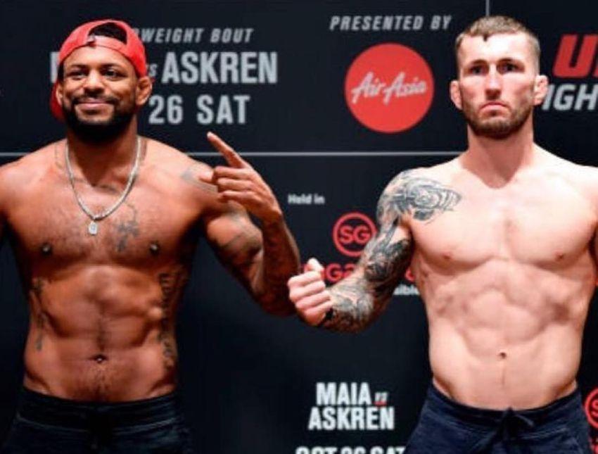 Видео боя Майкл Джонсон - Стиви Рэй UFC Fight Night 162