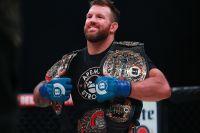 Райан Бейдер планирует защитить титул Bellator в полутяжелом весе