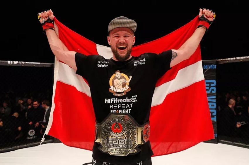 Николас Далби готов вернуться в UFC