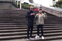 Андерсон Сильва и Келвин Гастелум встретились в Шанхае