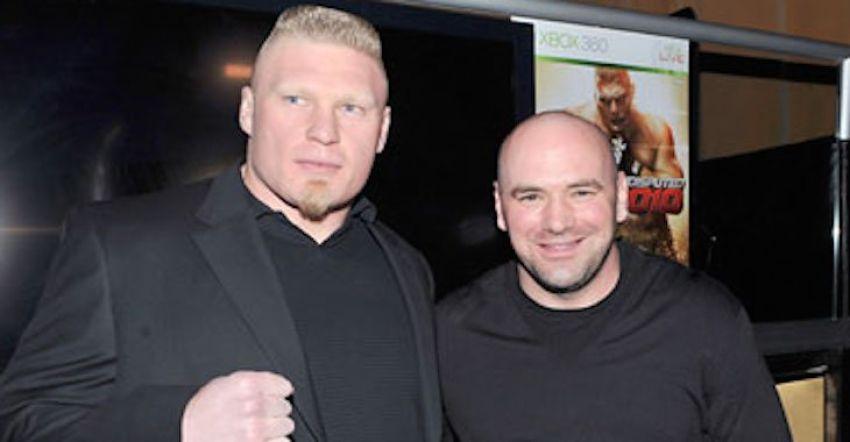 """Дана Уайт: """"Брок Леснар сделал правильное решение, отказавшись вернуться в UFC"""""""