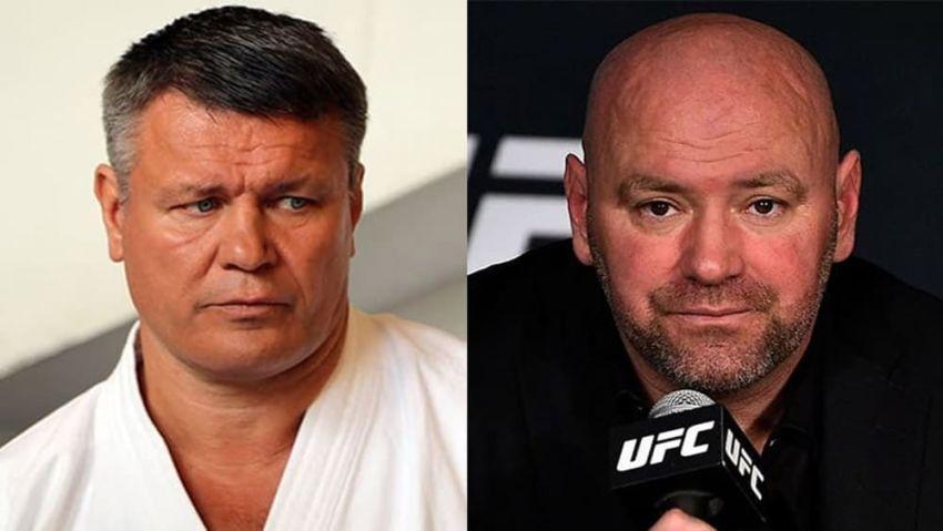 """Олег Тактаров поделился мнением о главе UFC Дане Уайте: """"Он болезненно относится к тому, что было до него"""""""