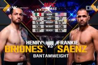 Видео боя Генри Брионес - Фрэнки Саенс UFC Fight Night 129