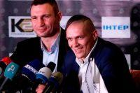 """Александр Усик: """"Кого из братьев Кличко я бы мог завалить в лучшей форме? Обоих"""""""