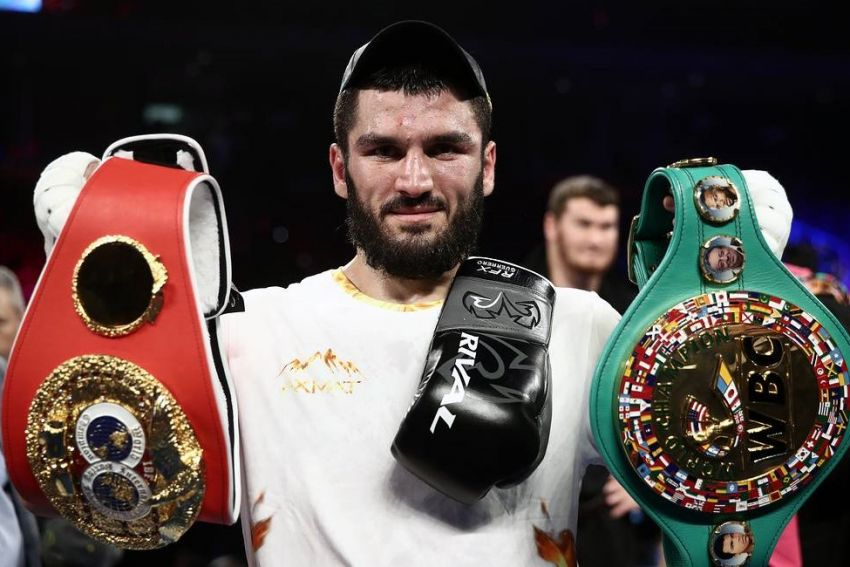 Артур Бетербиев отказался ставить на кон титул WBC в поединке с Фаньлуном