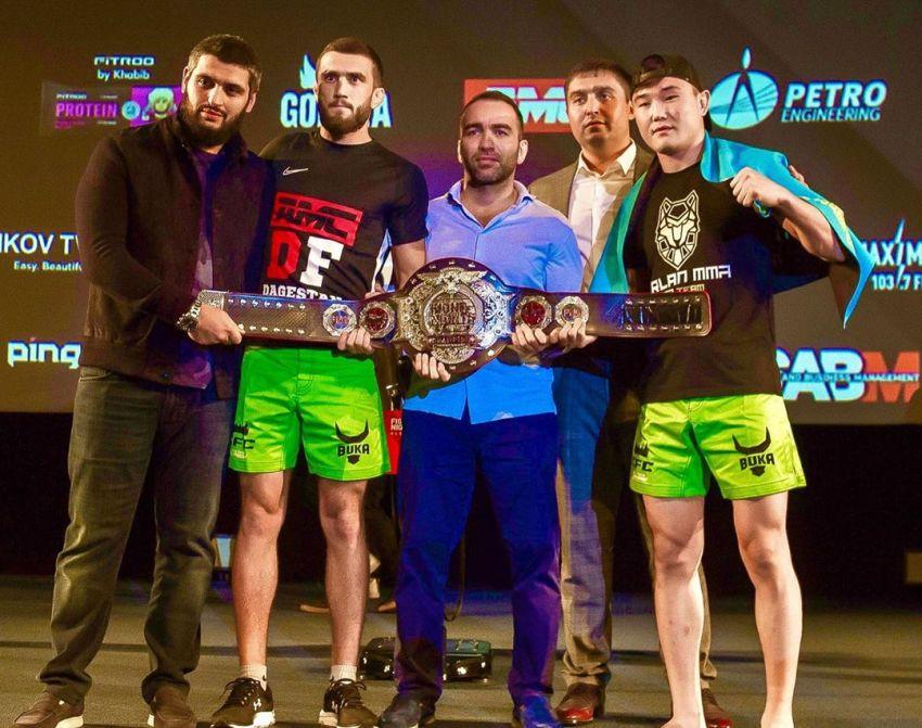 Видео боя Мухамед Эминов - Маратбек Касымбай Fight Nights Global-GFC