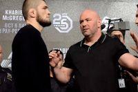 Дана Уайт объяснил, почему Хабиб Нурмагомедов не выступит на UFC 249