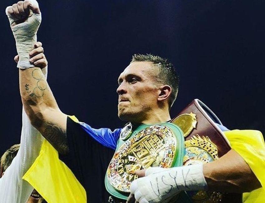 Александр Усик поднялся на 4-ю строчку в обновленном рейтинге WBC