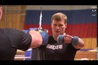 Видео Поветкин готовится к бою против Хантера