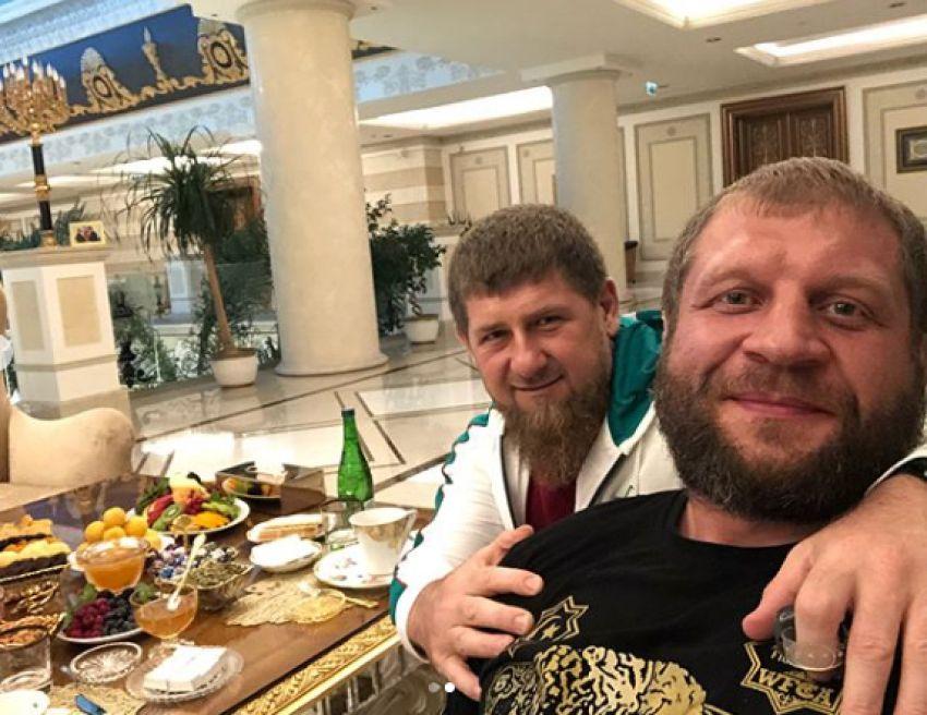 Рамзан Кадыров прокомментировал бой Александра Емельяненко против Тони Джонсона