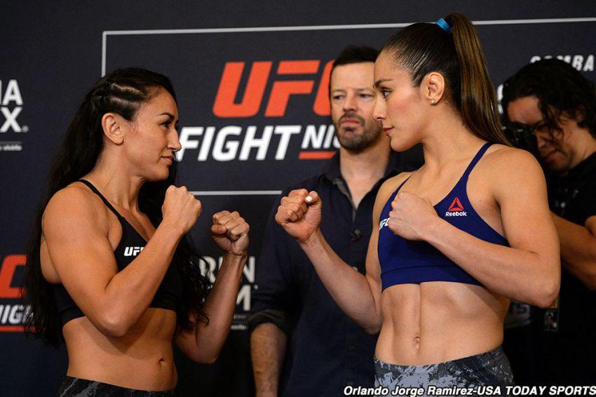 Видео боя Карла Эспарза - Алекса Грассо UFC Fight Night 159