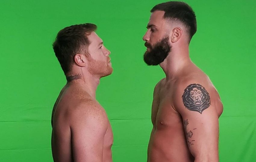 Boxing news: Video-Saul Alvarez and Caleb Plant fought during a sterdown