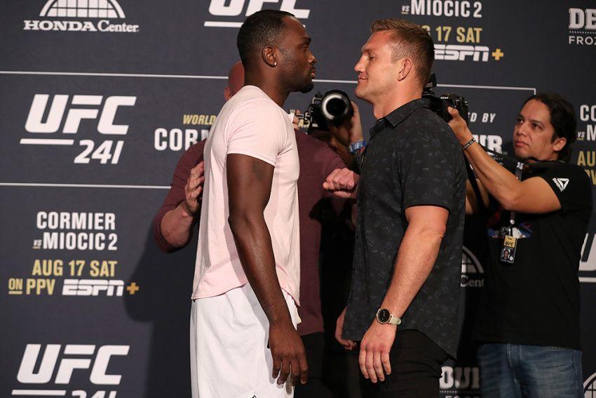 Видео боя Дерек Брансон - Йен Хейниш на UFC 241