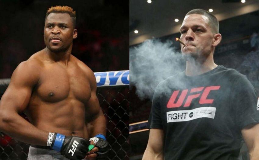 Nate Diaz criticized Francis Ngannou for his complaint about UFC fees