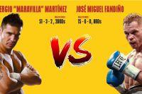 Серхио Мартинес против Хосе Мигеля Фандино