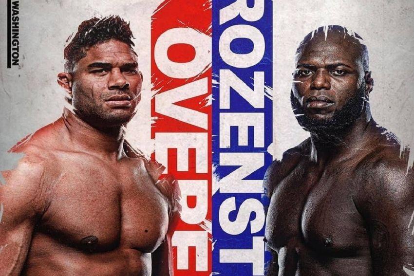 Прямая трансляция UFC on ESPN 7: Алистар Оверим - Жаирзиньо Розенштруйк