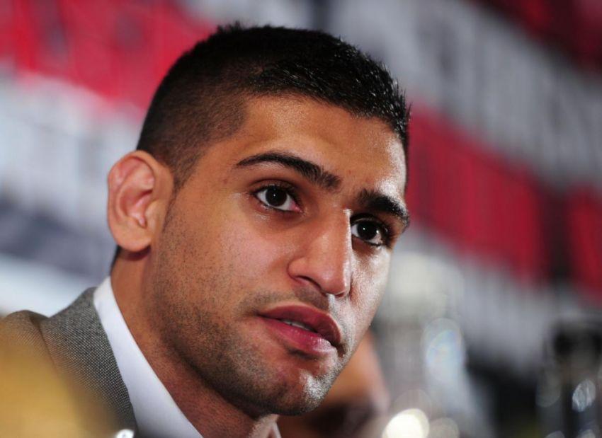 Амир Хан заявил, что после Гоята хочет драться с Бруком или Пакьяо