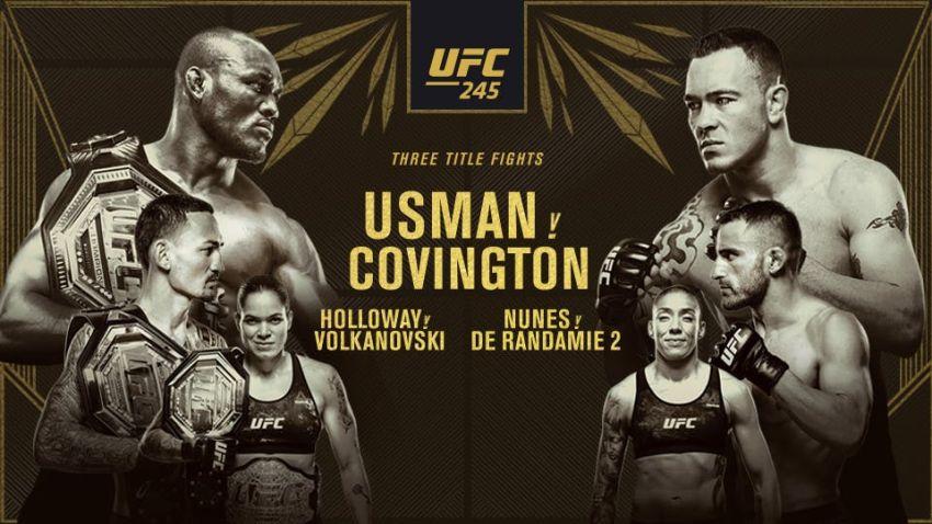 РП ММА №48 (UFC 245): 15 декабря