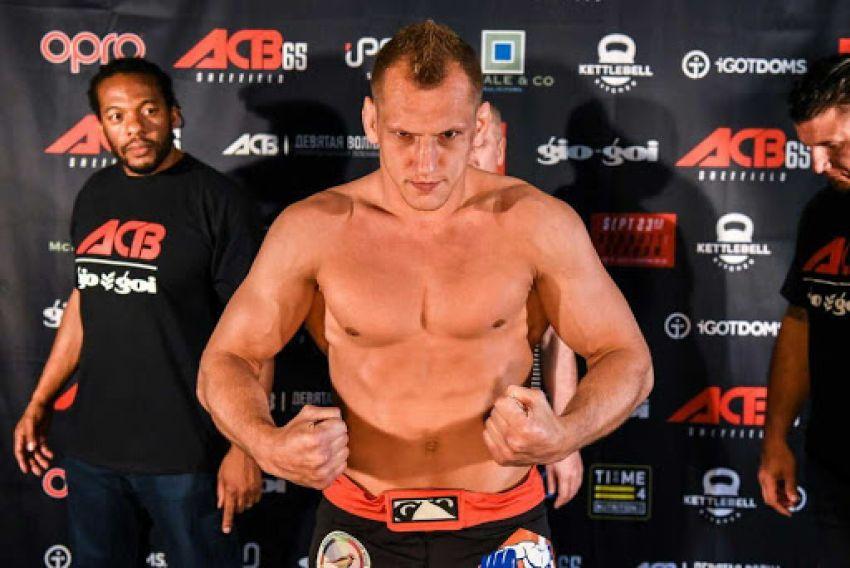 Вячеслав Василевский выступит на турнире GFC 25, есть соперник