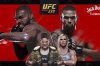 Результаты турнира UFC 239: Джон Джонс - Тиаго Сантос, Аманда Нуньес - Холли Холм